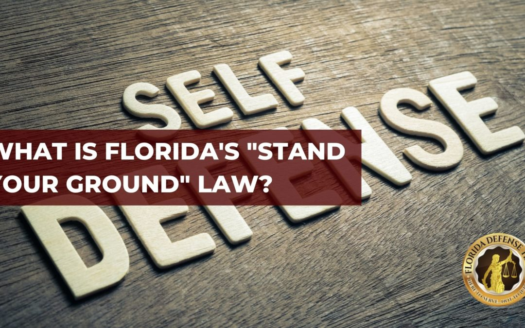 """What is Florida's """"Stand Your Ground"""" Law?"""